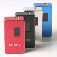 Cloupor T8 150W Dual 18650 Magnets Back Cover Box Mod