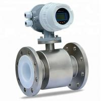 China Dn800 Magnetic Flowmeter Electromagnetic Water Flow Meter Price on sale