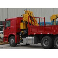 China High Quality  Mobile Commercial 6.3T Knuckle Boom Truck  Mounted Crane with hydraulic arms  For Safety Transport wholesale