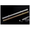China Supermarket Promotion Shelf Data Strips , Aluminum Alloy Roller Poster Pole wholesale
