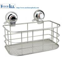 China RED Warning suction collection Grid kitchen storage racks chrome on sale