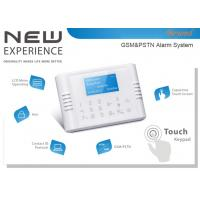 Quad-Band GSM+PSTN Dual Network Touch Keypad LCD Display Wireless House Alarm System