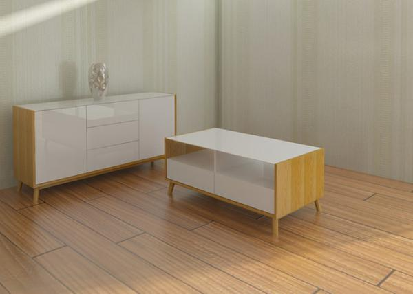 Quality MDF Material Modern Bedroom Furniture Sets With Lacquer Painting for sale