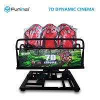 China Professional 7D 9D Movie Theater Simulator For 8 / 9 / 12  Players wholesale