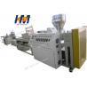 China 37KW PVC Window Profile Extrusion Line Transparent Dual Screw Compounding Filed wholesale