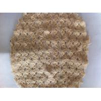 China Lightweight Flexible Knitted Fabric Mesh Netting , Stretch Clothing Shell Fabric wholesale