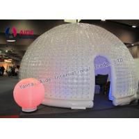 China Double Pvc Strong Warm Inflatable Event Tent For Trade Show Business wholesale