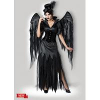 China Midnight Raven 1138 Womens Halloween Costumes Dress In Black With Size XS To XXXL wholesale
