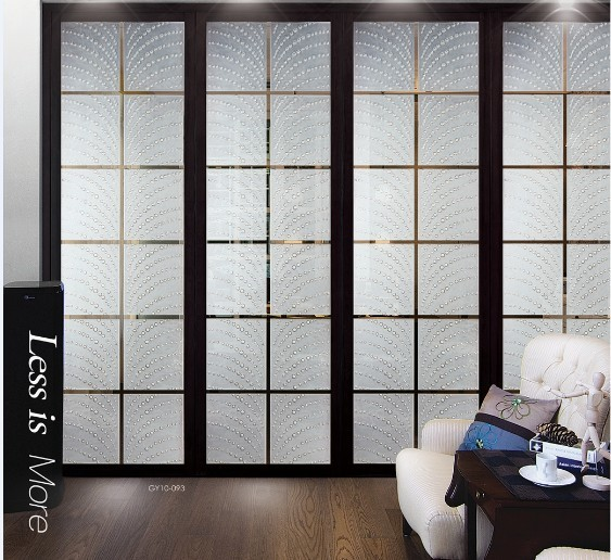 Curtain door panels images - Decorative glass wall panels ...