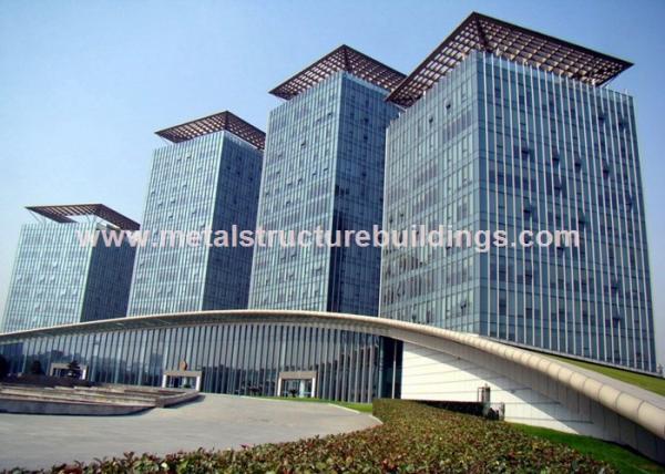 Quality Estructuras de acero prefabricadas galvanizadas caja fuerte para el edificio de la infraestructura for sale