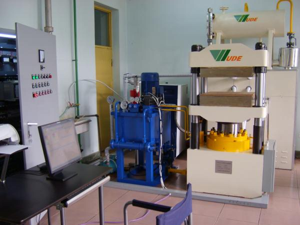 Quality Impregnating Paper Laboratory Press Machine , Laboratory Hydraulic Press For Research for sale