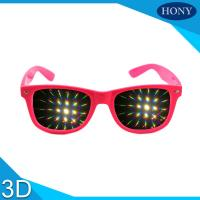 China Diffraction glasses clear 13500 lines per inch for firework glasses wholesale