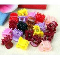 China 20 Mix Color Mini Small Plastic Hair Clips Claws Clamps (HB-08) on sale