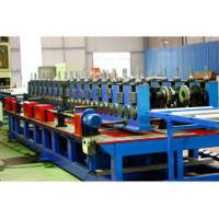 China 860mm Laser Cable Tray Roll Forming Machine Gear Box With 16 Sets Forming Stations wholesale