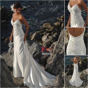 Quality Bridal Wedding Dress, Beach Wedding Dress (BD5204) for sale