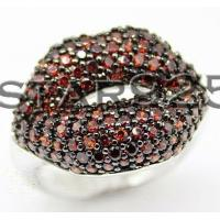 China 925 sterling silver lips ring lip wholesale