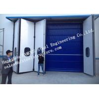 China Aesthetic Aluminum Alloy Industrial Garage Doors Folding For Warehouse , Simple Installation wholesale