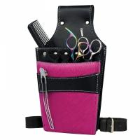 China leather hairdressing scissor bags#0121-9 wholesale