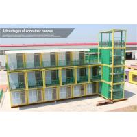 China Luxury Colorful Prefab Shipping Container Homes 40 Foot for Holiday Village on sale