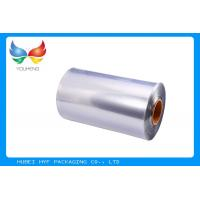 China 40 MIC Transparent Blown PVC Shrink Film For Shrink Sleeve Label wholesale