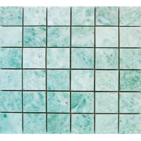 China Marble Mosaic,Green Jade Marble Material, Green Color,Different Designs,For Tile wholesale