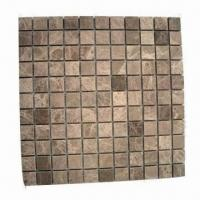 China Marble Mosaic, Made of Light Emperador wholesale