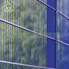China PVC Galvanized Curved Metal Iron Garden FencePanels ISO9001 Standard wholesale