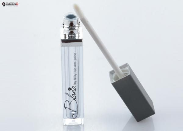 Quality Customized Empty Lip Gloss Tubes Square AS Tube For Makeup Containers for sale