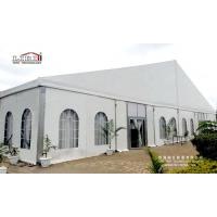 China White Roof 1500 Seater Church Event ABS Walling Glass Plane Tent For Sale Nigeria wholesale