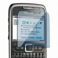 China Mobile Phone Screen Protector for Nokia E71, Made of PET Material, 3 Layers Structure, Anti-scratch wholesale