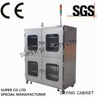 China Electronic Desiccant Stainless Nitrogen Dry Box for security storage on sale