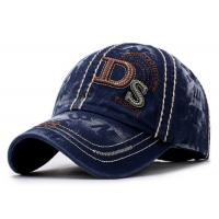 China Cotton Sports Custom Snapback Hats , Embroidered Mens Adjustable Caps on sale