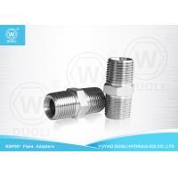 China British Standard Male Thread BSPT Pipe Fittings , Metric Hydraulic Hose Fittings wholesale