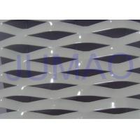 China Electric Galvanized Aluminum Expanded Metal , White Metal Sheet With Holes wholesale