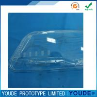 China Low Volume Rapid Prototyping Manufacturing Transparent Acrylic for Light wholesale