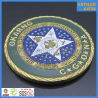 Camp Gruber Training Site Command Great Seal of The State of Oklahoma coin 6