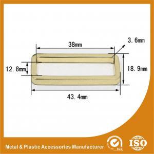China Цвет золота аксессуаров сумки квадрата кольца металла диаметра 38С12.8С3.6ММ wholesale