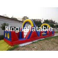 Buy cheap Inflatable Amusement Park Giant PVC Children Outdoor Inflatable Obstacle Course from wholesalers