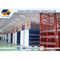 China Plywood Board Industrial Mezzanine Floors Racking System With Staircase wholesale
