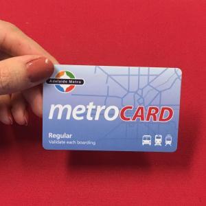 China Mifare 4k RFID Proximity Card Big Memory Embossed Number For Membership wholesale
