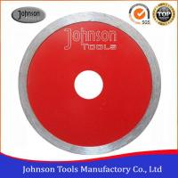 China Johnsontools Sintered Diamond Ceramic Tile Saw Blades No Chipping wholesale