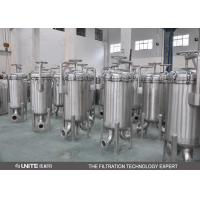 China Stainless Steel Single Bag Filter Housing,Water Filter Housing For Waste Water wholesale