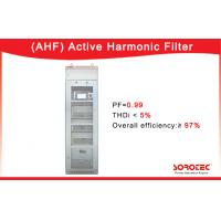 China 400V/50A  Active Harmonic Filter APF PF 0.99 with RS485 Network Communications Ports wholesale