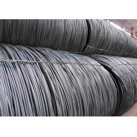 China In Black Surface Wire Rod Coils / Hot Rolling High Carbon Steel Rod on sale