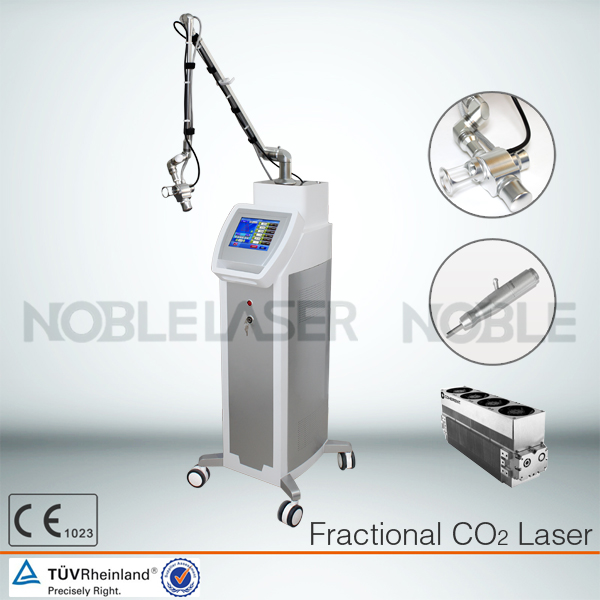 del Fractional CO2 laser install air exhausting d