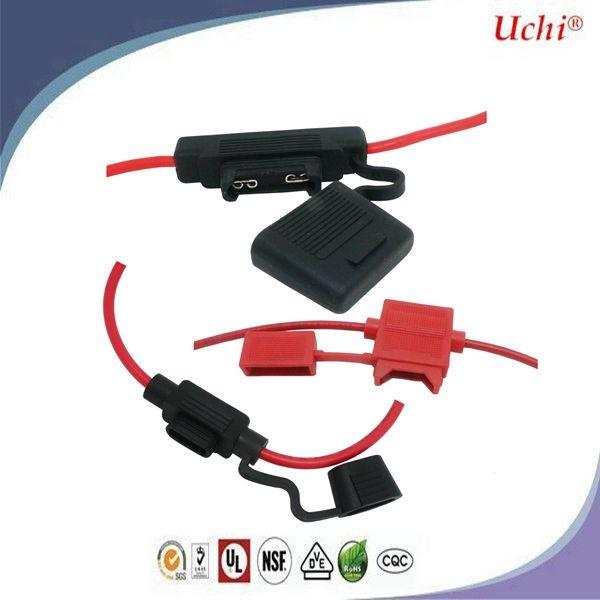 UK Plug Fuse , Auto Blade Fuse Car fuse holder N - Nickel plating