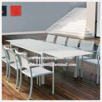 China Tempered Table Top Glass with Different Color and Size wholesale