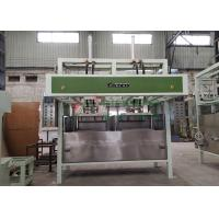 China Small Manual Egg Tray Forming Machine / Waste Paper Industrial Packages Line wholesale