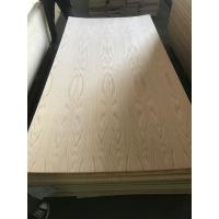China 3.2MM red oak face Commercial plywood supplying on sale