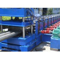 China 3 Waves Highway Profile Steel Roll Forming Machine For Expressway Guardrail Bars Use 45Kw Motor and Hydraulic Cutting on sale
